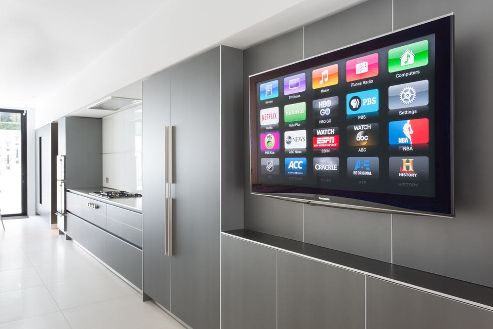 smart tv kitchen faucets parts wall mount installation installations