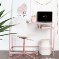 """IKEA hack"" Create a Rose Gold Desk  Heart Home"