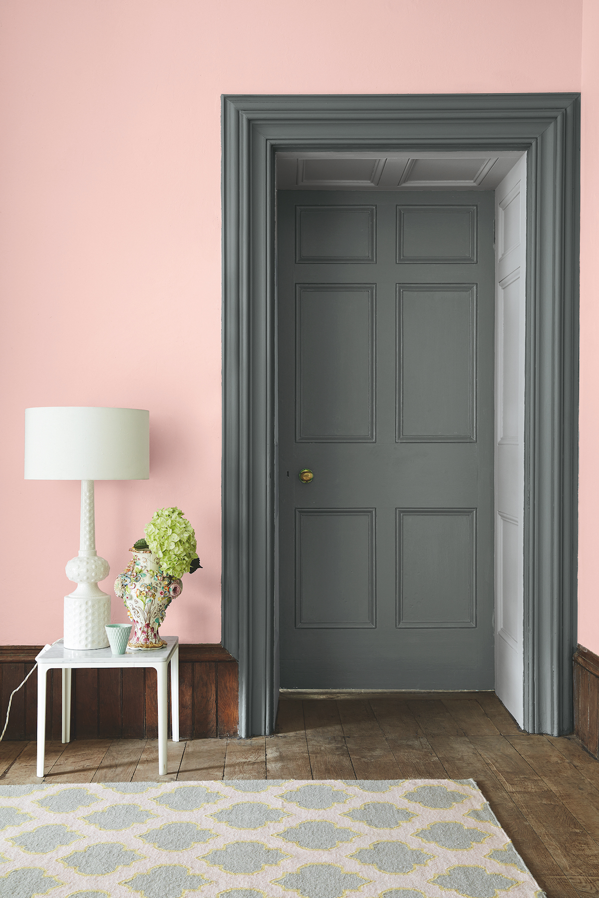 colour ideas living room dado rail modern black and white furniture little greene launches a new 'colours of england' paint ...