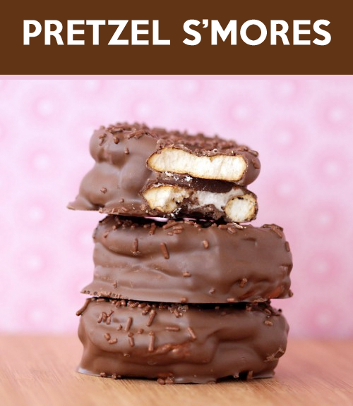 Pretzel S'mores- Love from the Oven