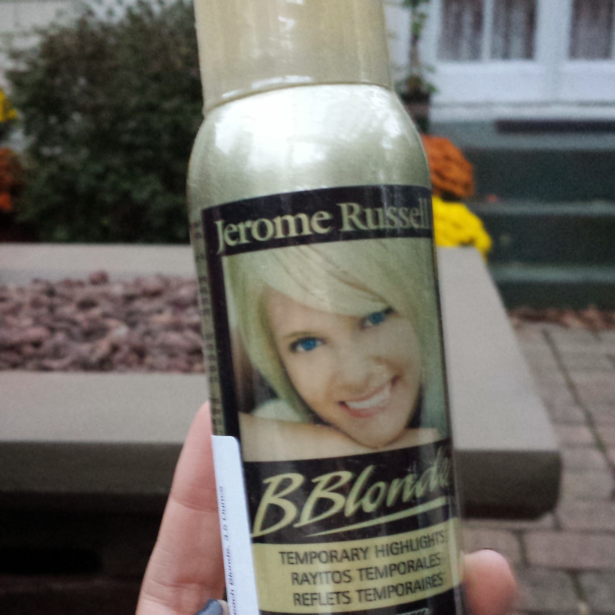 Going Blonde for the occasion!