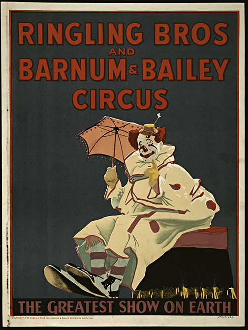 Vintage Ringling Bros Circus Posters