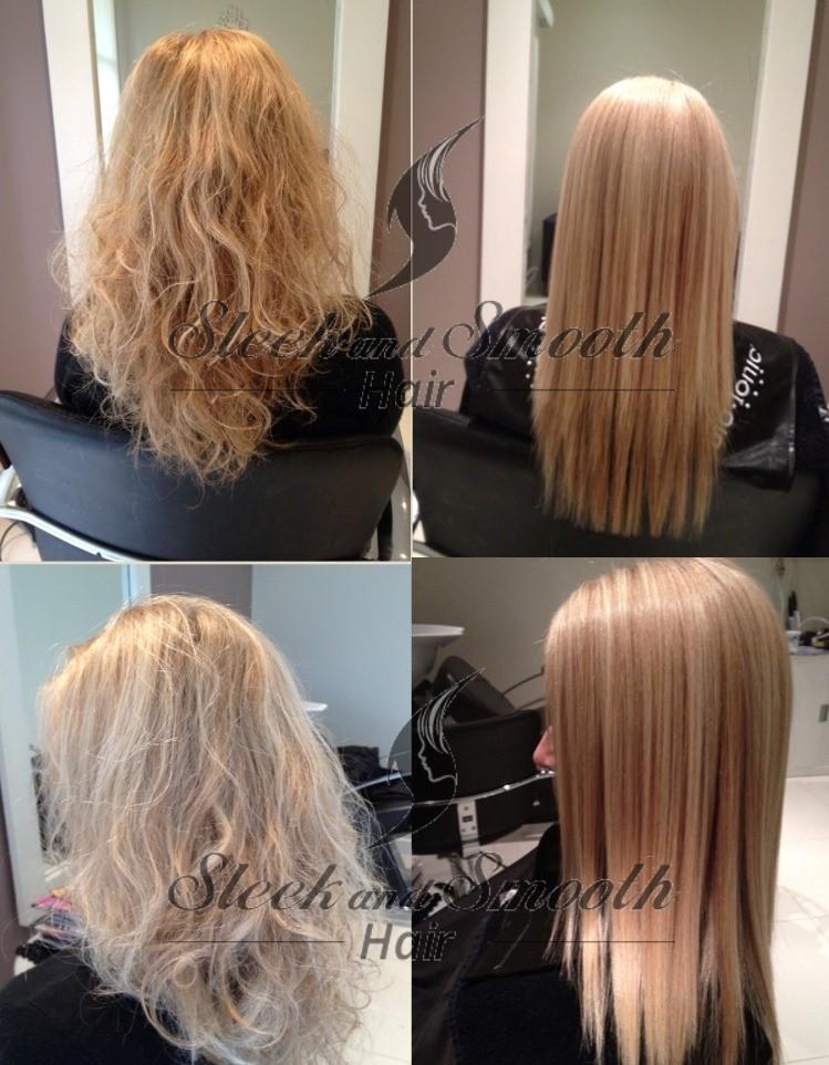 Permanent Japanese Hair Straightening Sleek And Smooth Hair