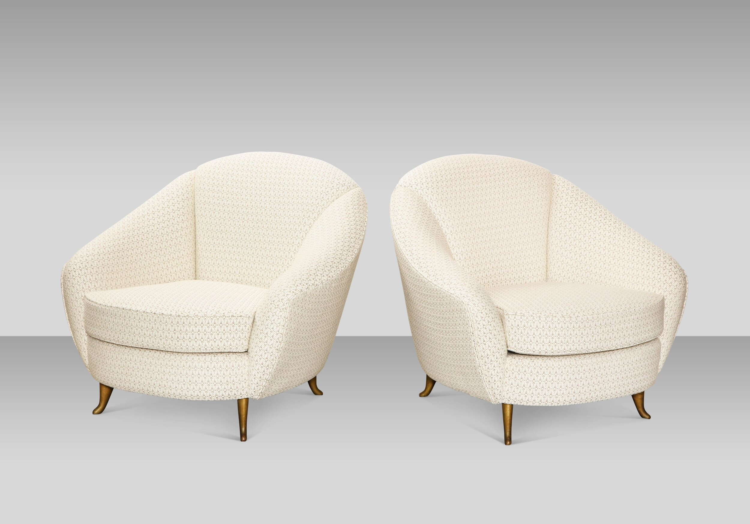 gio ponti chair folding kijiji mississauga pair of lounge chairs by for isa donzella