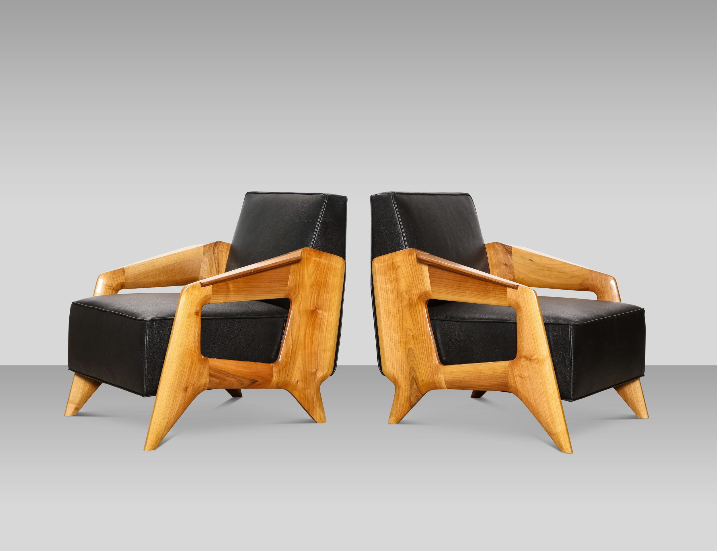contemporary lounge chairs imperator works gaming chair pair of donzella