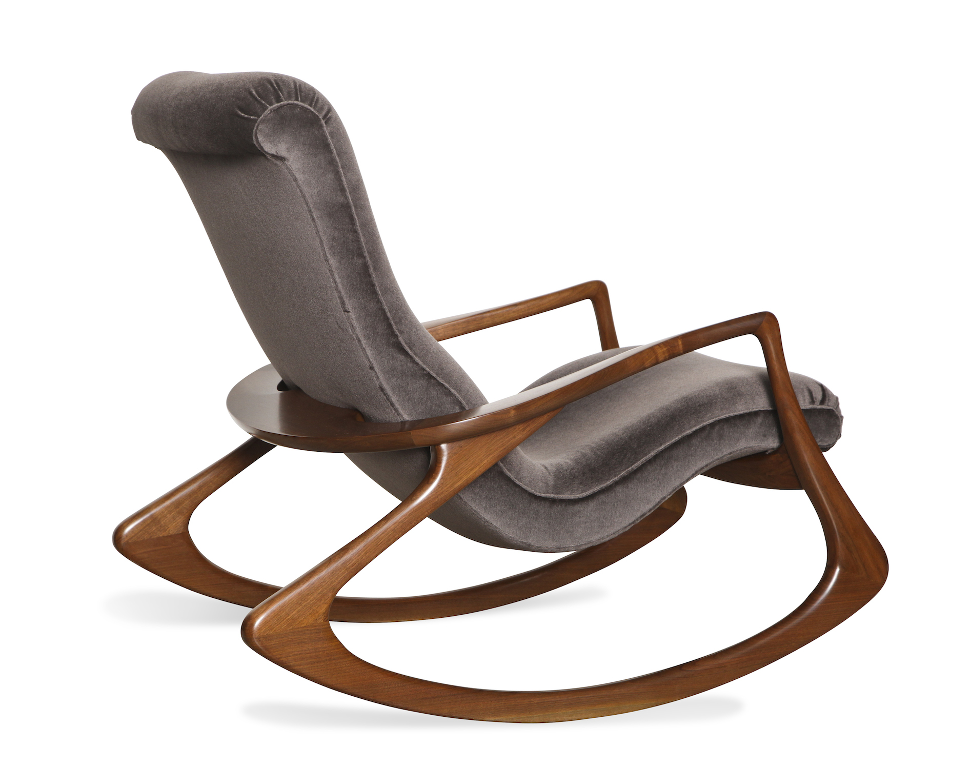 vladimir kagan rocking chair extending round table and chairs contour by donzella