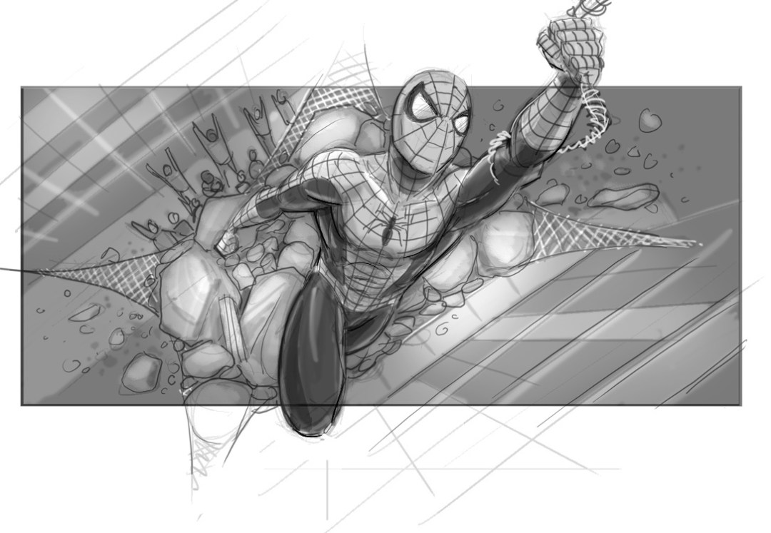 Sam Raimi's Spider-Man 4 Concept Art Revealed 1
