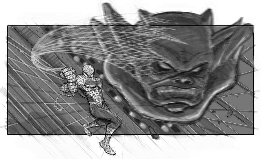 Sam Raimi's Spider-Man 4 Concept Art Revealed 5