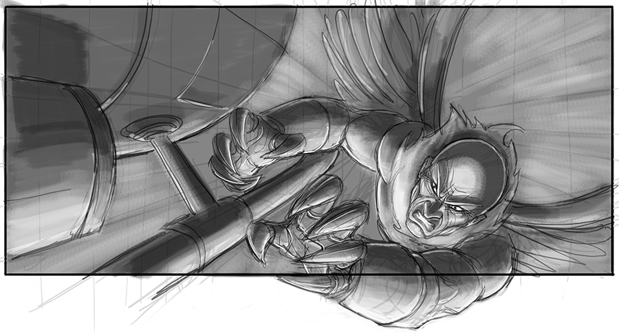 Sam Raimi's Spider-Man 4 Concept Art Revealed 15