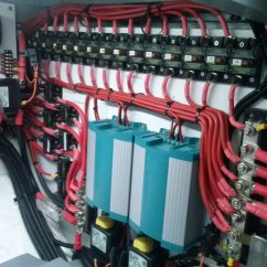 Switchboard Wiring Diagram Bargman Trailer Light Marine Electrical Solutions Sydney