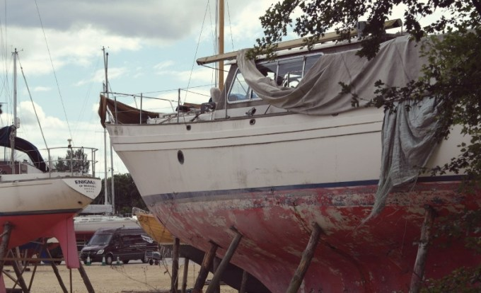 Boatyard at Buckers Hard, New Forest