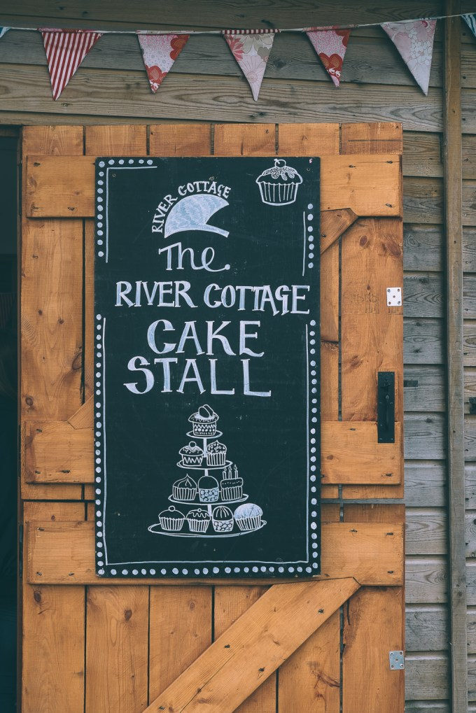 River Cottage Cake Stall