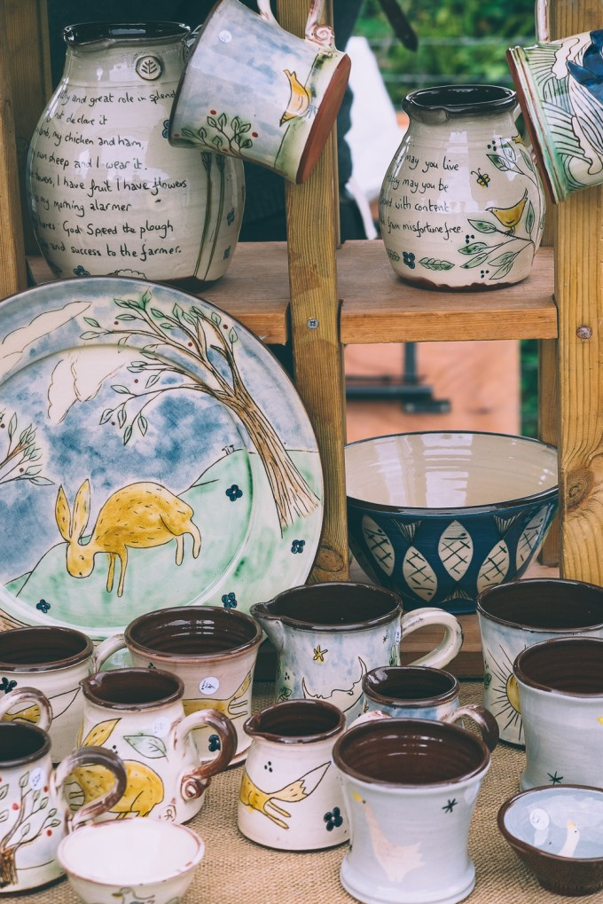 Pottery at River Cottage Summer Fair