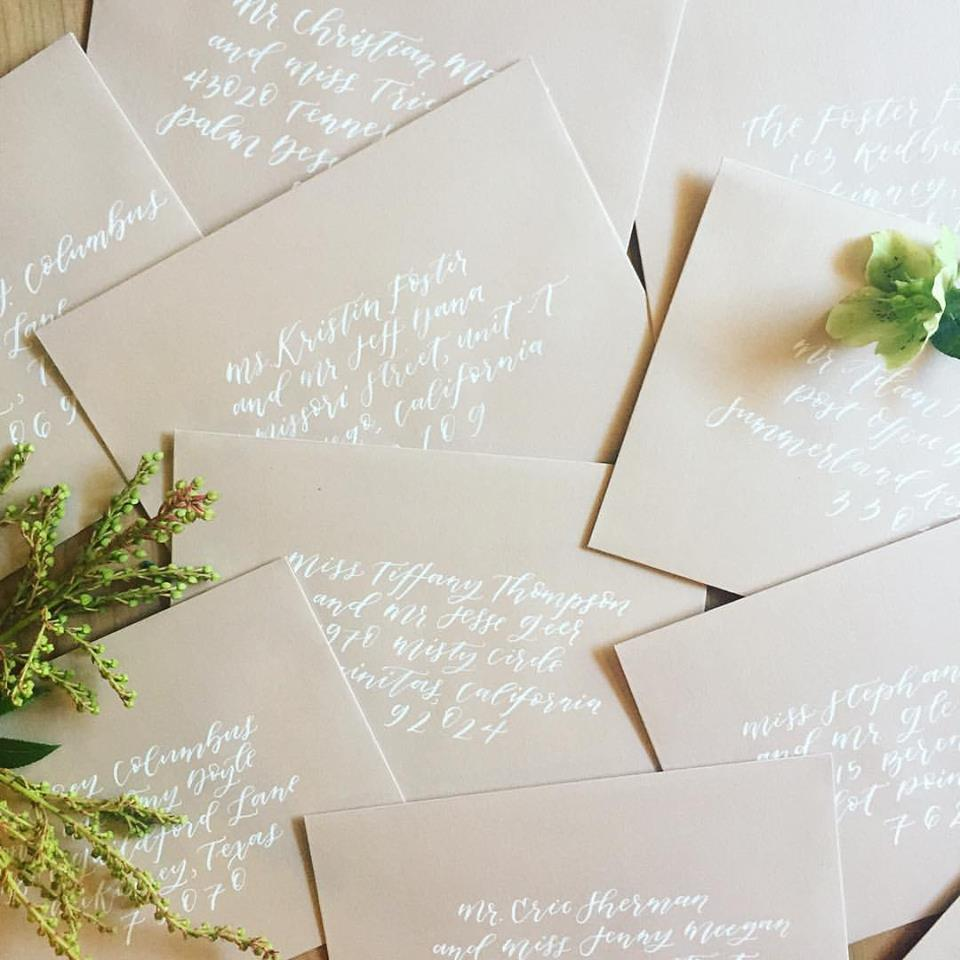 How to Address Wedding Invitations  Twinkle  Toast