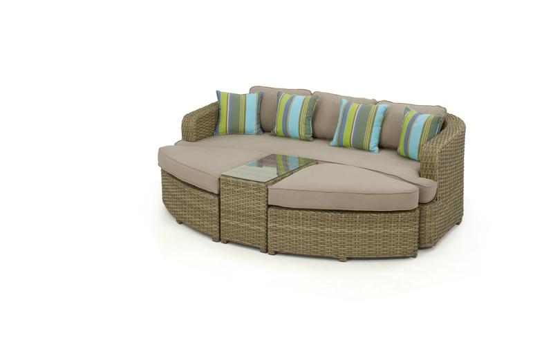 maze rattan natural milan corner sofa set green cushions sleeper houston craigslist look daybed mil 30601 just interiors
