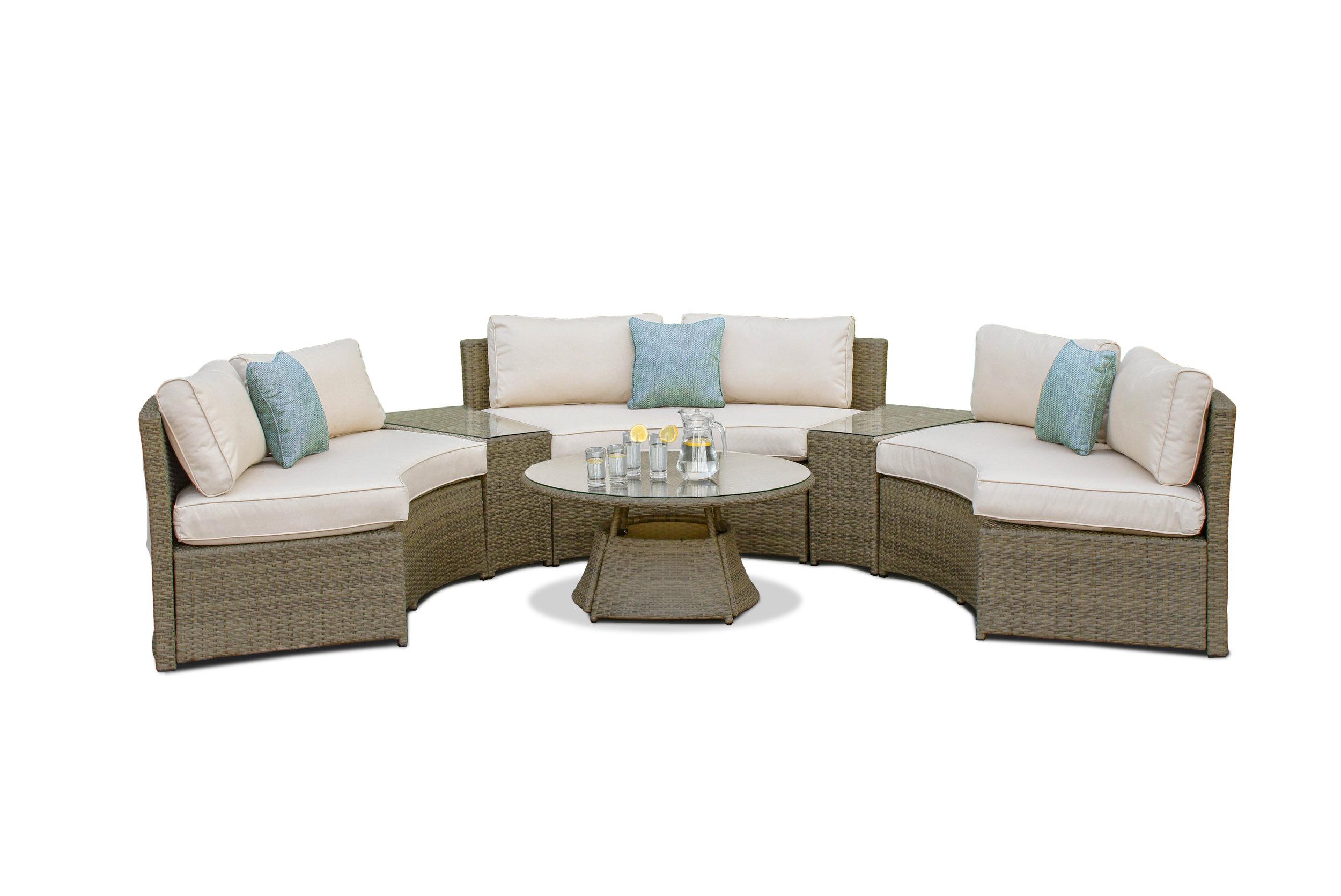 maze rattan natural milan corner sofa set green cushions narrow table with shelves garden furniture just interiors tuscany half moon white out jpg