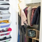 Coat Closet Makeover With Practical Storage Ideas Tag Tibby Design