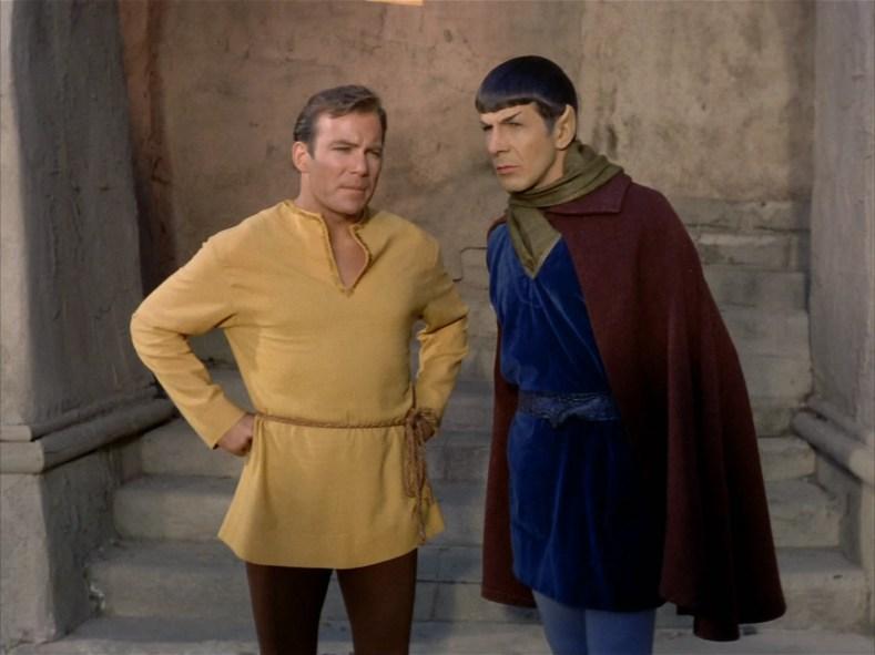 Kirk is a fancy man.