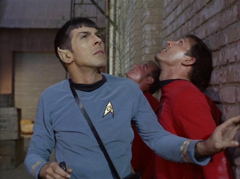 Spock is worried.