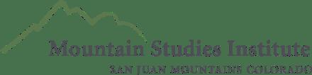 Image result for mountain studies institute logo
