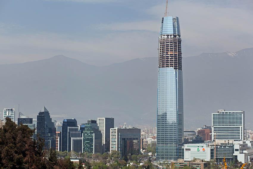 Costanera Gran Torre Santiago Chile
