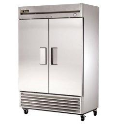 true two door reach in refrigerator 54  [ 1000 x 1000 Pixel ]