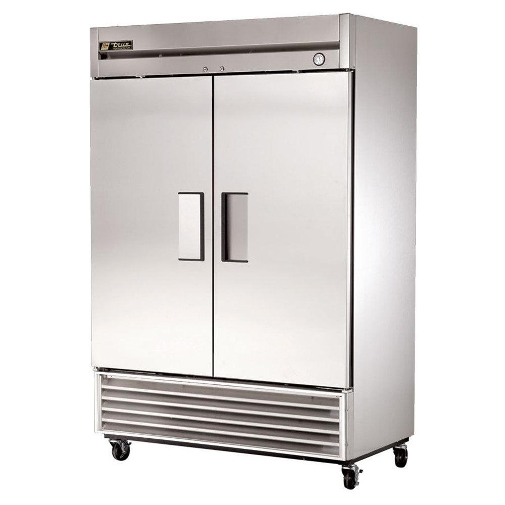 hight resolution of true two door reach in refrigerator 54