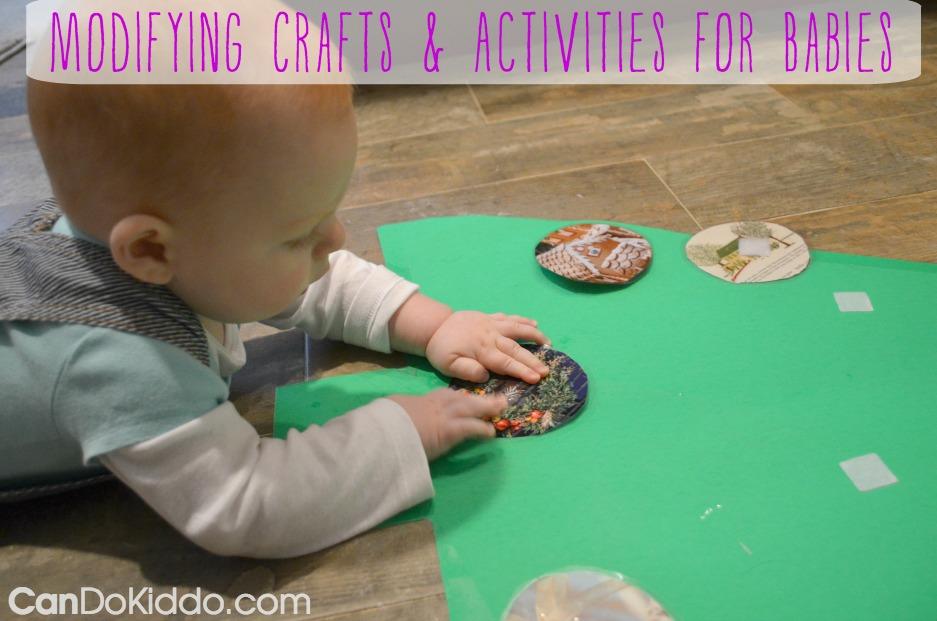 Modifying Crafts & Activities For Babies — Cando Kiddo