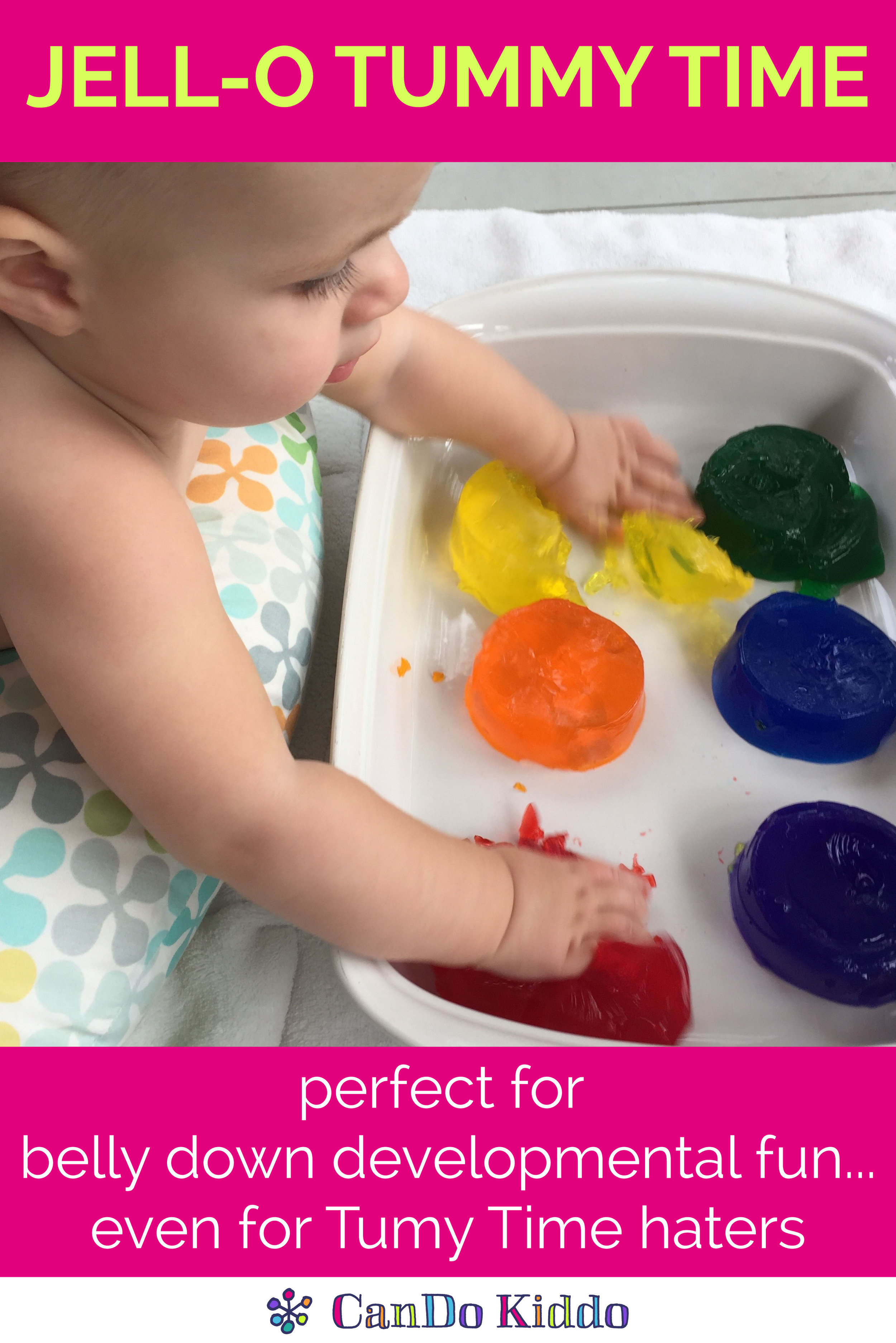 JellO Play Activities  Tips For Babies  Toddlers