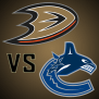 Nhl Anaheim Ducks Vs Vancouver Canucks Canadians In