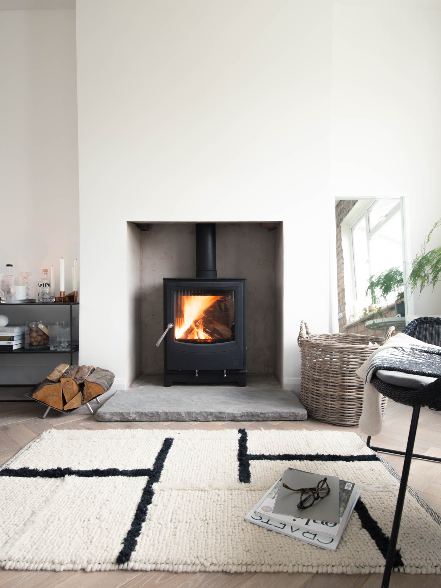 images of living rooms with wood burning stoves dark brown room furniture installing a stove step by guide design hunter ecodesign ready arada