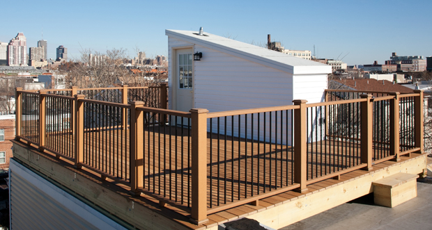Roof Deck With Pilot House In South Philadelphia Match