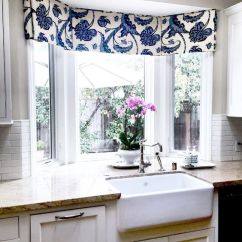Kitchen Valences Floor To Ceiling Pantry Window Treatments Curtains Blinds Bath Bay Valance Cornice Board Treatment Topper