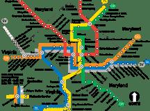 Mappa Linee Metro New York