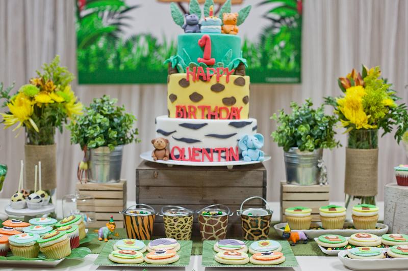 Jungle Theme Birthday Party Decorations