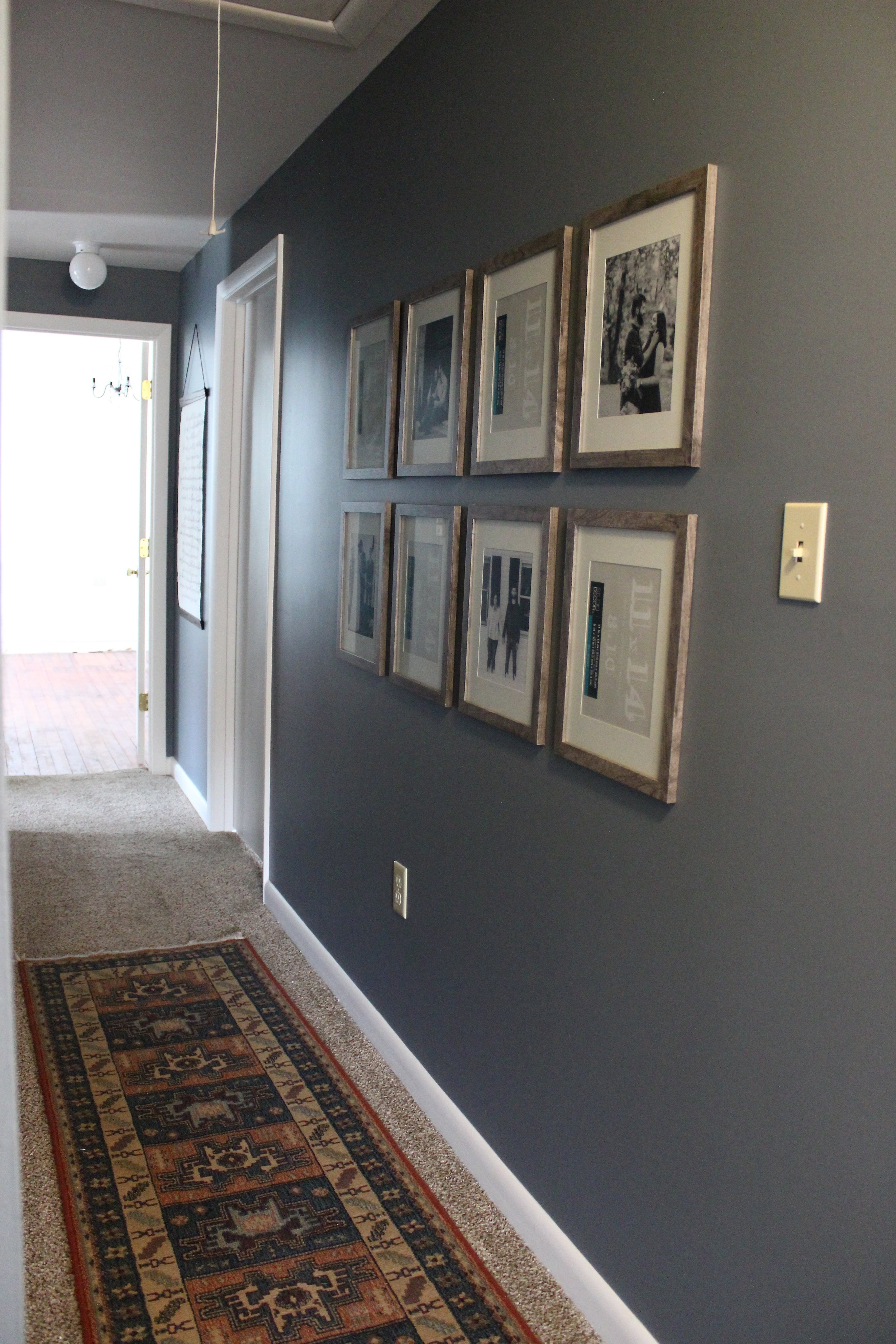 Upstairs Hallway Progress Stevie Storck Design Co