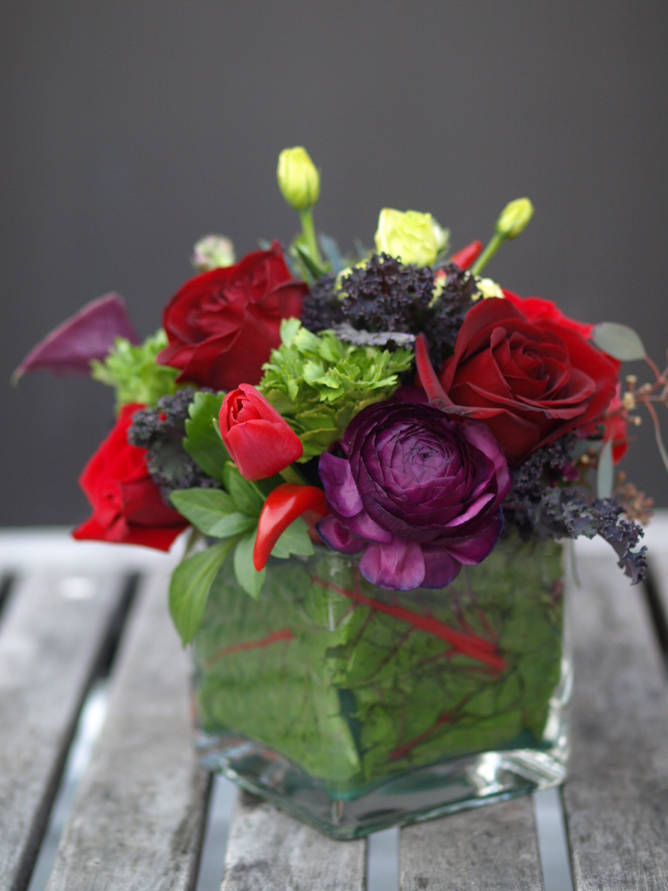 Sophisticated Valentines Day Table Arrangements Rosehip
