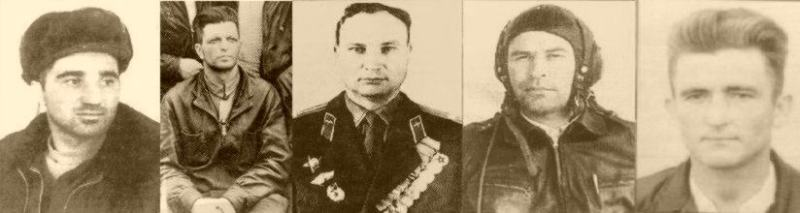 Some of the Russian aces from the conflict. Source