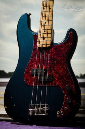 1978 Fender Precision Bass :: broken output jack, spotty