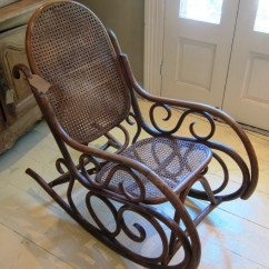 Rocking Chair Cane Pottery Barn Wingback Slipcover Parterre