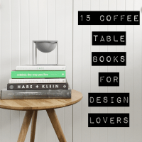 15 coffee table books for design lovers  The Little
