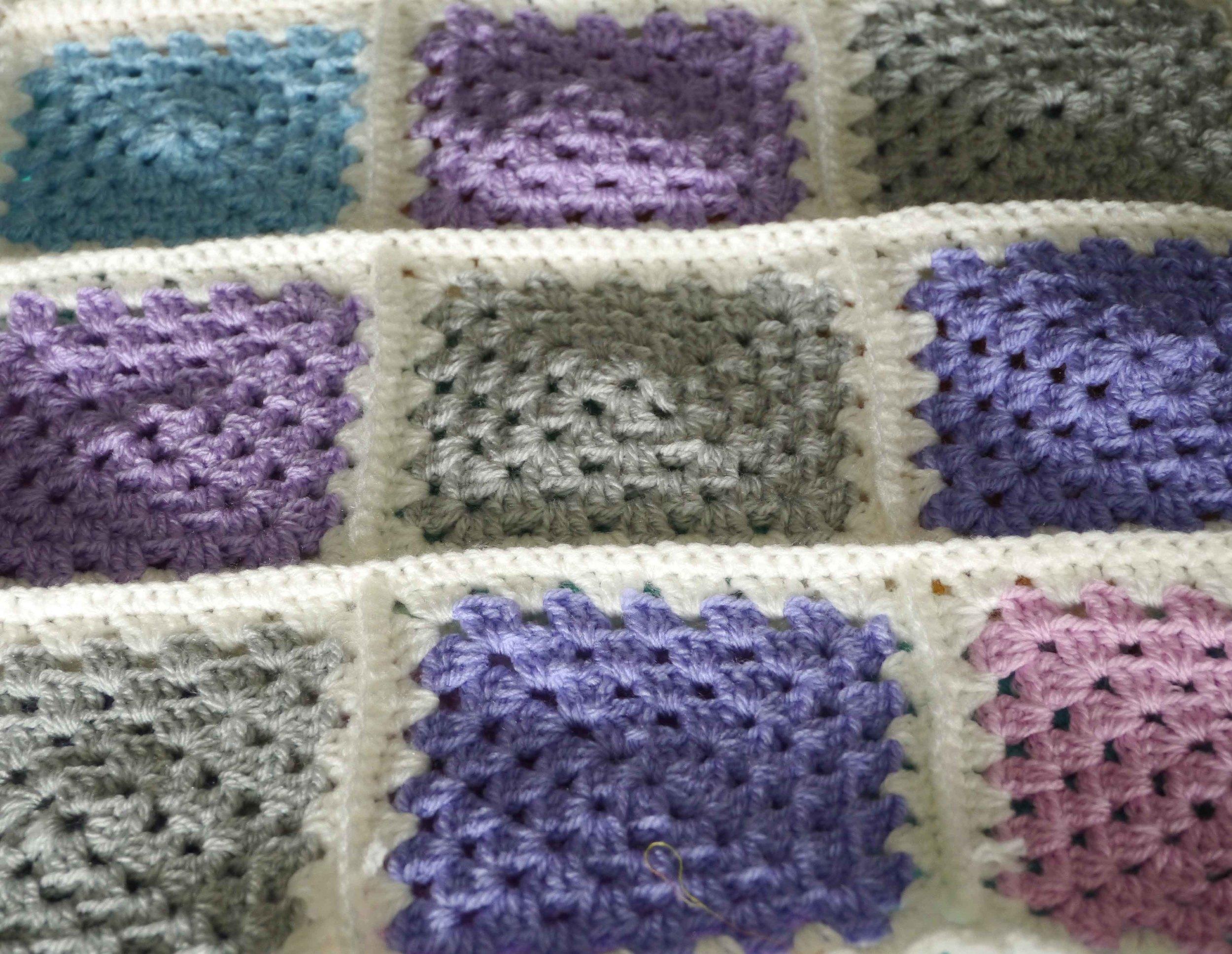 Crochet Baby Blanket Words