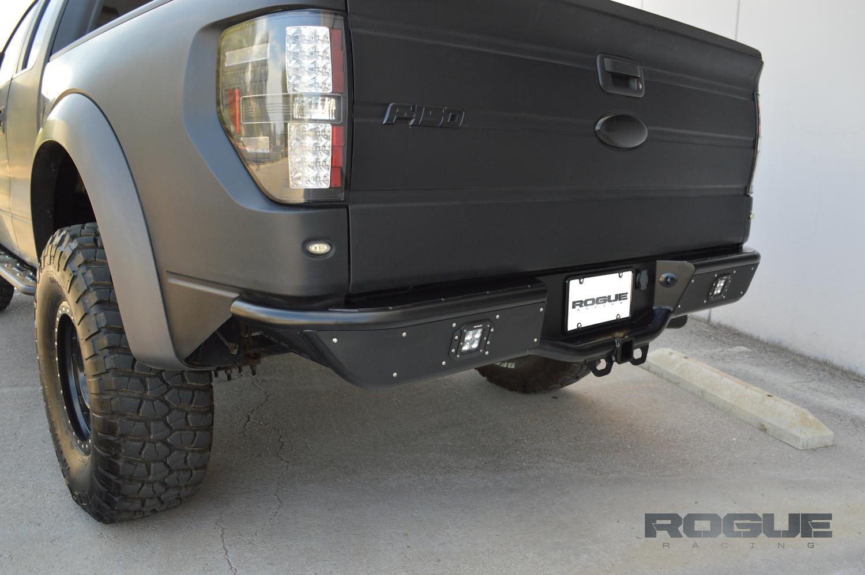 renegade rebel rear bumper 2009 2014 ford f150 raptor ecoboost rogue racing [ 1500 x 998 Pixel ]
