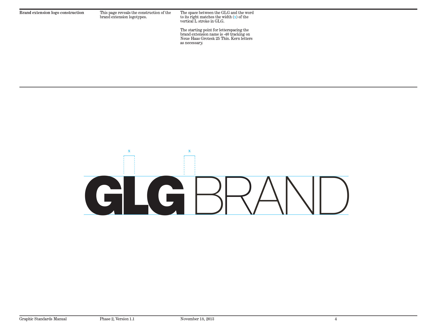 GLG Brand Guidelines — Camille McMorrow