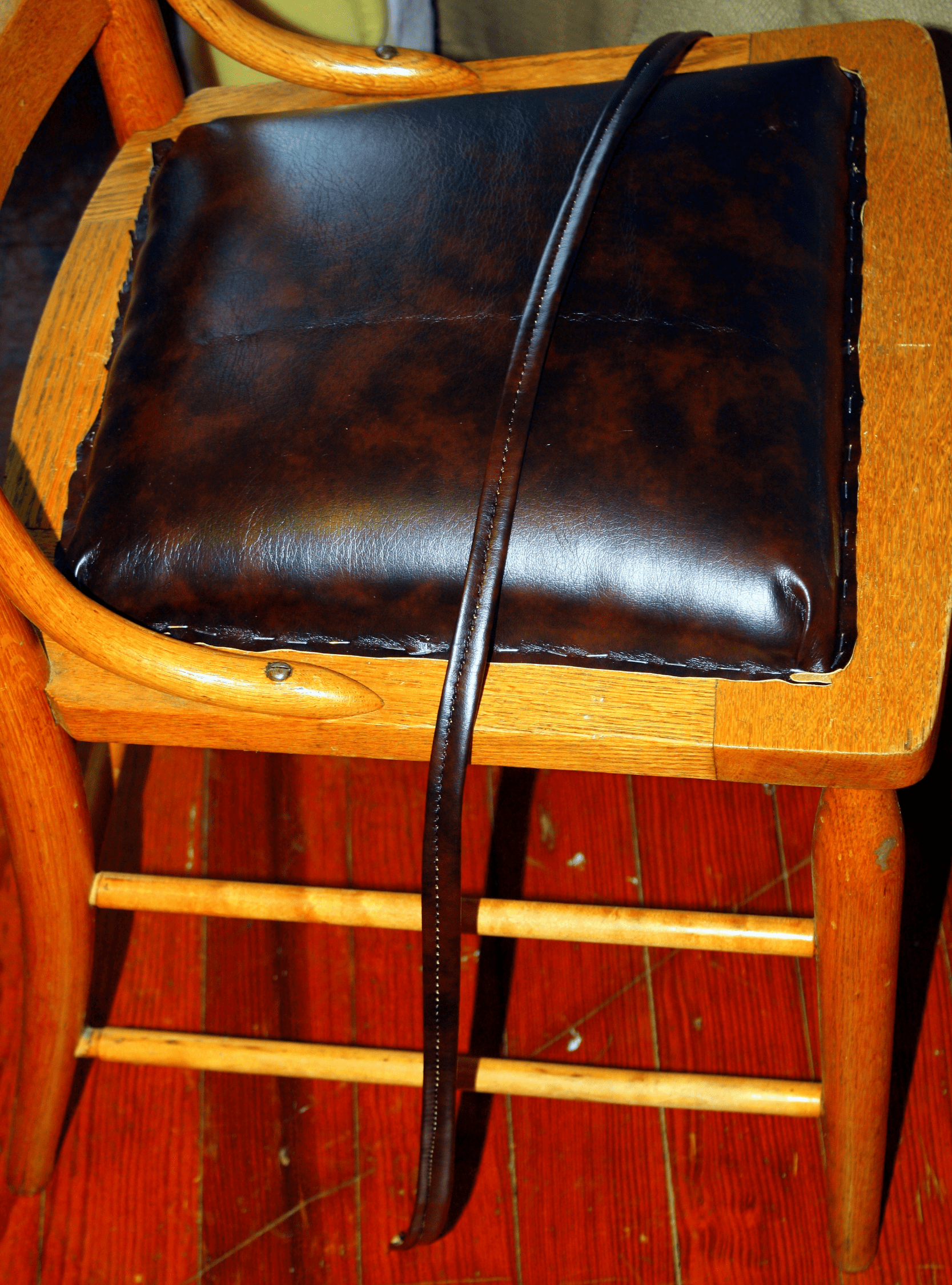 how to replace cane back chair with fabric santa covers uk upholstery 101 broken caning a padded seat good bones for an in depth explanation of properly attach or vinyl see my june post on recover dining