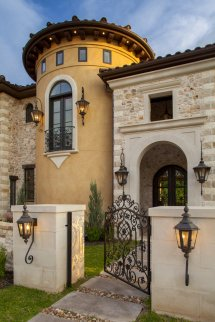 Old World Tuscan Home Design