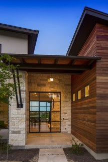 Contemporary Homes with Siding and Stone