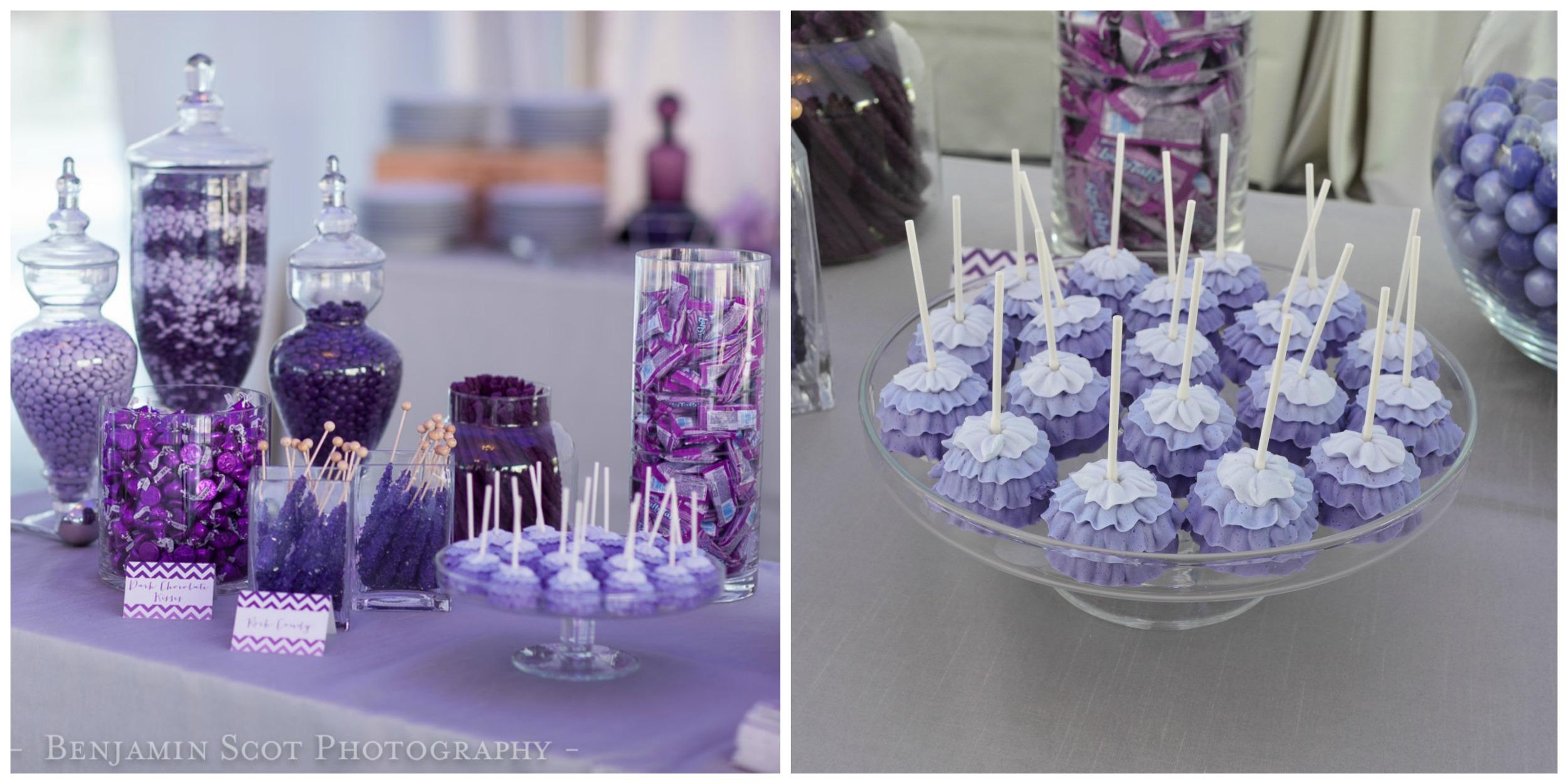 PurpleThemed Wedding Inspiration  The Overwhelmed Bride