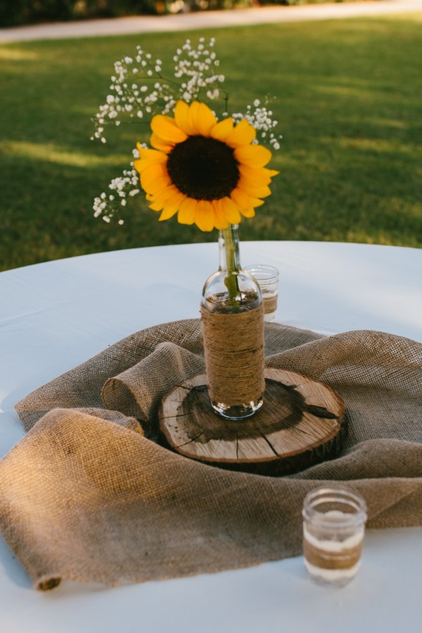 20 Sunflower Centerpieces For Outdoor Wedding Pictures And Ideas On