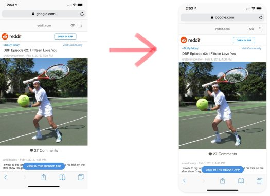 Big Tennis Screenshots takes your iPhone X, XS, and XS Max screenshots and makes them round and pretty.